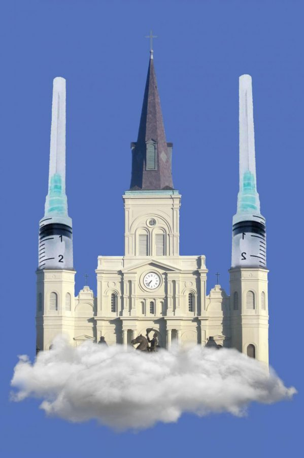 The Johnson and Johnson vaccine stirs up controversy in the New Orleans Catholic Church
