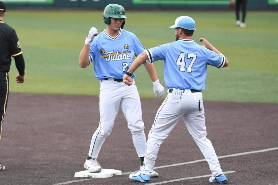 Tulane+Baseball+enters+AAC+play+with+six+straight+wins