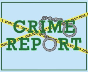 weekly crime report graphic