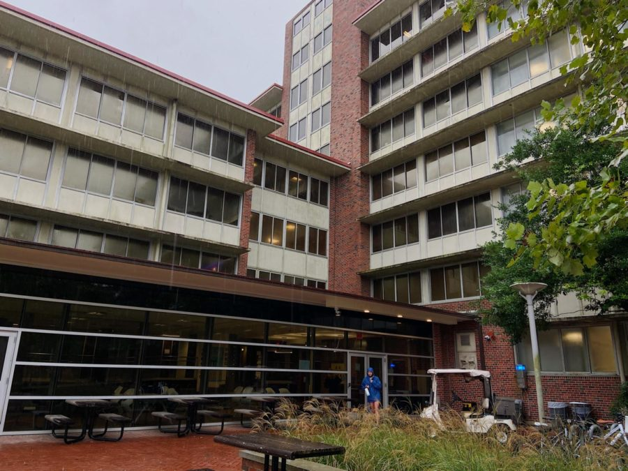 Sharp Hall reports the most thefts with at least 44 missing their personal belongings.