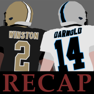 Jameis Winston struggled immensely in Charlotte as the Carolina Panthers blew out the Saints.