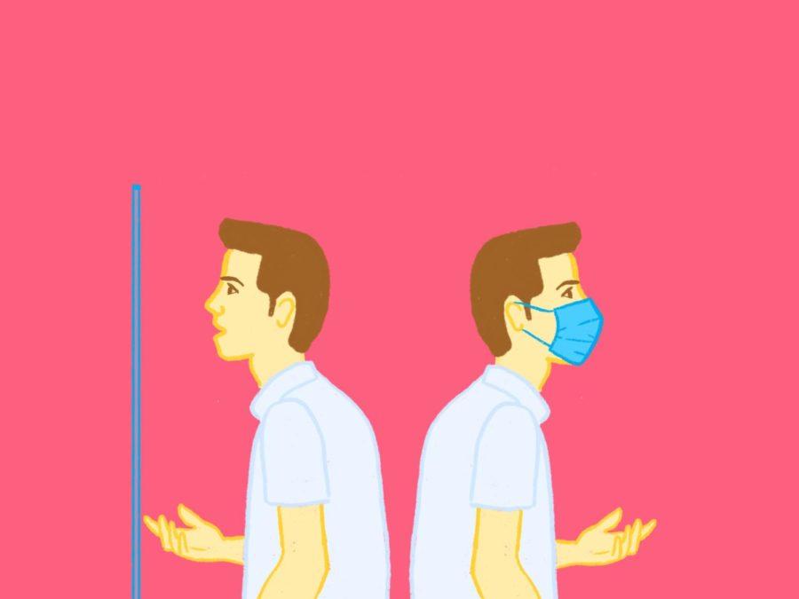 mask mandate leads to professor exemptions